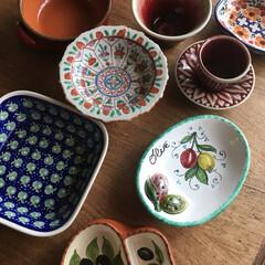 食器 我が家の小皿たち  タイにイタリア、ポー…