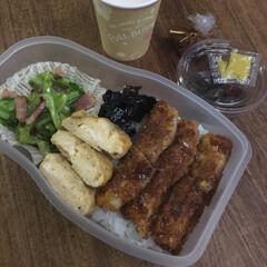 お弁当/みんなのお弁当 ナポリタン弁当🍱  玉子サンド、ツナセロ…(9枚目)
