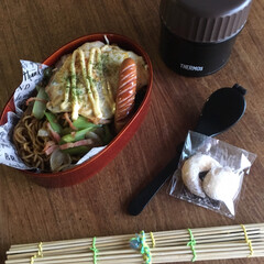 平成弁当/お弁当/みんなのお弁当 鰹節唐揚げ海苔弁当🍱  目玉焼き、本門寺…(10枚目)