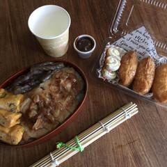 平成弁当/お弁当/みんなのお弁当 豚の生姜焼き弁当🍱  出し巻き三つ葉玉子…(1枚目)