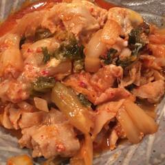 無駄なしキムチスープ キムチがだいぶ発酵して酸味が増したのでキ…(2枚目)