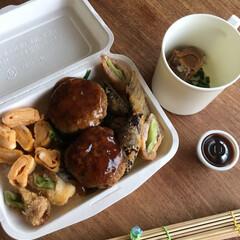 お弁当 和風あんかけハンバーグ弁当🍱  出汁…(1枚目)