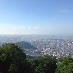 展望台/景色/風景/札幌 我が町、札幌 夜景も綺麗だけど昼間の景色…