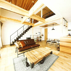 スケルトン階段/木造/家具/ウッド/アメリカンヴィンテージインテリア/シーリングファン/... 居心地の良さをさらに!!