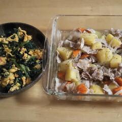 マヨネーズ/夕飯/リピート/レンチン料理 🥔レンチン塩肉じゃが作って見ました❗️ …