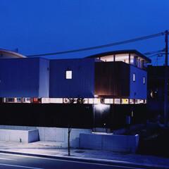 デッキ/わふう/和風/シンプル/木質 S House