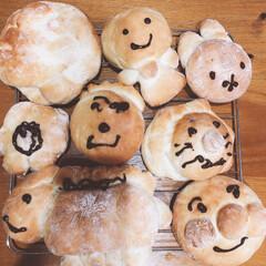 手づくりパン/リミアな暮らし 6歳の息子が初めて作ったパンです!中身は…(3枚目)