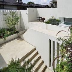 テラス 各庭には寄り添う室に合わせた植栽が施され…