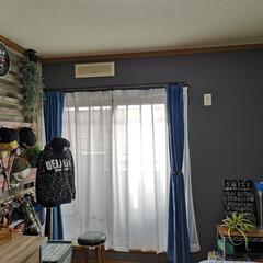 小5/ディアウォール/息子部屋/男前インテリア/壁紙DIY/壁紙屋本舗/... 息子の部屋  ちなみに長男←小5 やっと…