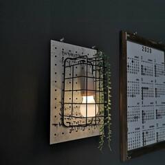 簡単DIY/100均リメイク/ペンダントライト/セリア/100均/DIY 100均で間接照明。 セリアのペンダント…