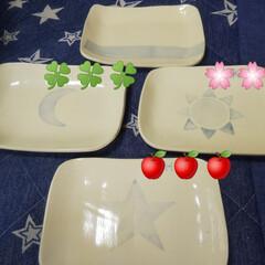 Handmade/オーダー品/陶器 こんばんは。 久々に陶器のアップ🍀  オ…(7枚目)