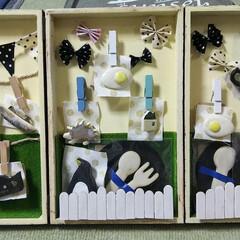 ブローチ/飾棚/ショーケース手作り/ショーケースDIY/雑貨/ハンドメイド 手作り飾棚。 このままお店に置いて貰える…