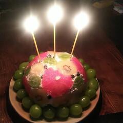 おうちごはん/誕生日ケーキ 先日は めでたくないようなめでたい、私の…(2枚目)