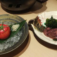 日本酒/ノドグロ/刺し盛り/ハンドメイド/DIY こんばんは❤️ 昼間アップしたら一枚しか…(3枚目)