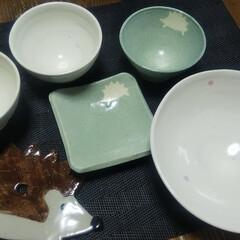 青磁マット/作品/陶器/Handmade/LIMIAな暮らし おはようございます🎵 朝から涼しい🎵 昨…