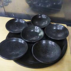 器/器好き/陶芸/陶器/ハンドメイド 焼き物が出来上がりました🎵 黒土のワンプ…