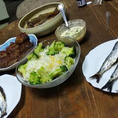 釣果/煮魚/タコパー/沖縄のお土産 今日は休み初日。 鏡餅と、友人のもてなし…(5枚目)