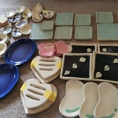 ハンドメイド/うつわ/陶芸/陶器 今週末は陶器の即売会に参加します❗️ 自…