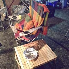 キャンプグッズ/ローテーブル/DIY/ハンドメイド この一枚目の写真に有るのが元々私が作った…