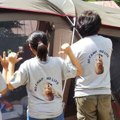 キャンプ場/キャンプ飯/夏コーデ/ファッション/グルメ/ハンドメイド ただいま~ 二泊三日のキャンプはあっとい…
