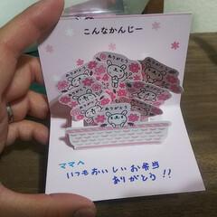 絵本/娘のお弁当/花束/メッセージカード/母の日/令和の一枚/... こんばんは~ 昨日は母の日忘れられては居…(5枚目)
