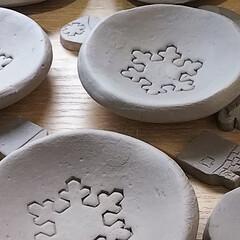 陶芸/陶器/お弁当/100均/ダイソー/ハンドメイド こんにちは。 今日はお弁当二人とも要るっ…(2枚目)