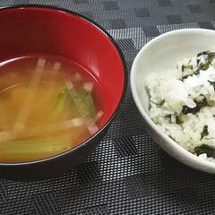 陶器/わかめご飯/炊き込みご飯/お弁当/グルメ 昨日は、やっと残りの絵付、色付けが終わり…(3枚目)