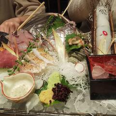日本酒/ノドグロ/刺し盛り/ハンドメイド/DIY こんばんは❤️ 昼間アップしたら一枚しか…(2枚目)