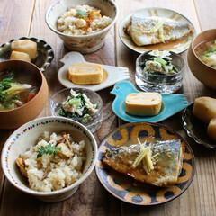 Breakfast/和食/朝ごはん/おうち/ごはん/ハンドメイド/... Today's breakfast 20…(2枚目)