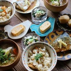 Breakfast/和食/朝ごはん/おうち/ごはん/ハンドメイド/... Today's breakfast 20…