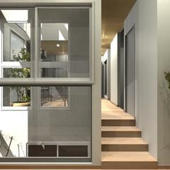 モダン/デザイン/家/CG/デザイナーズ住宅 デザインファーストではモダンな家をCGで…