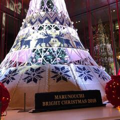 ライトアップ/フォロー大歓迎/クリスマス/クリスマスツリー/風景 先週末に大手町の丸の内仲通りに行ってきま…(2枚目)