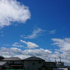 部屋からの景色/青空 きれいな青空✨ でも今から雨かな☔