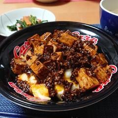 麻婆豆腐丼/簡単スープ/せとか/カルディ/天津麻婆豆腐丼/麻婆豆腐/... 今夜のごはん📝 *天津麻婆豆腐丼 *中華…