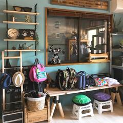 カインズ/インテリア/DIY/雑貨/100均/家具/... おはようございます。 昨日の子ども部屋の…