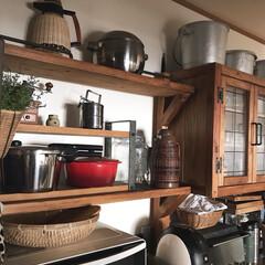 DIY/住まい/リフォーム/キッチン/収納/掃除/... こんばんは(♡ˊ艸ˋ♡) 今日も暑かった…(1枚目)