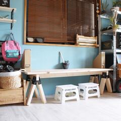 ソーホースブラケット/子供部屋/DIY/雑貨/インテリア/ニトリ/... おはようございます(♡ˊ艸ˋ♡) 気づけ…