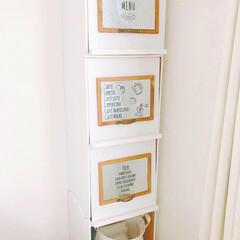 100均/セリア/インテリア/雑貨/家具/住まい/... ・ 今まで使ってた収納ボックス(写真6枚…