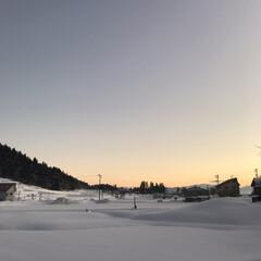 空/雪国/雪景色 雪景色❄️