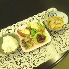 晩ご飯/グルメ/フード/おうちごはん 今日の食べ物up第3段。 晩ご飯😆。  …(1枚目)