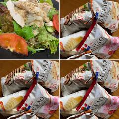 夏に向けて/ランチ/スタミナ丼/スタミナご飯/スタミナ飯/スタミナ盛り 今日はさっぱりしたサラダ冷麺🥗 デザート…
