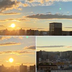 空/夕日 秋らしくなって来ました🍁