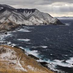 風景 津軽海峡❄️