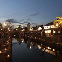 風景/小さい春 倉敷春宵あかりが昨夜から開催されてます💕…(1枚目)
