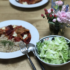 夕ご飯/サラダ/トマト/ビーツ/簡単レシピ/時短レシピ いつの日かのダイエットコーチのリアル夕ご…