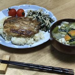 ニラ/夕ご飯/時短レシピ/イワシ いつの日かの夕ご飯!イワシの蒲焼き!2歳…