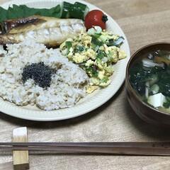 サバ/夕ご飯/焼き魚/時短料理/簡単レシピ/味噌汁 いつの日かのダイエットコーチのリアル夕ご…