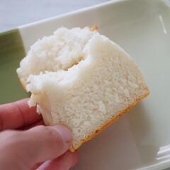 米粉パン/パン/グルテンフリー/グルメ/フード 多森サクミ先生のレシピで作った米粉パンで…