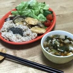 玄米/味噌汁/鶏胸肉/簡単レシピ/夕ご飯 いつの日かのダイエットコーチのリアルダイ…