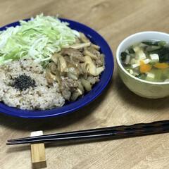 エリンギ/玉ねぎ/豚肉/夕ご飯/簡単ごはん/時短料理 いつの日かのダイエットコーチのリアル夕ご…